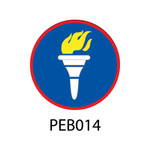 Pebble Patches - PEB014 - Torch