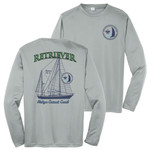 M128 - S1.1 - Sub - ST350LS - Michigan Crossroads Council Sailing Long Sleeve Wicking T-Shirt