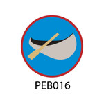 Pebble Patches - PEB016 - Canoe