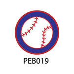 Pebble Patches - PEB019 - Baseball