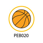 Pebble Patches - PEB020 - Basketball