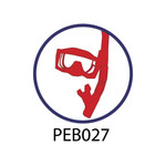 Pebble Patches - PEB027 - Scuba