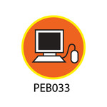 Pebble Patches - PEB033 - Computer