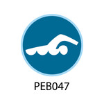 Pebble Patches - PEB047 - Swimming