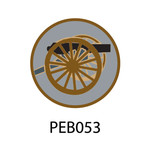 Pebble Patches - PEB053 - Cannon