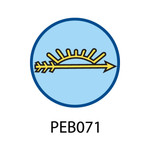 Pebble Patches - PEB071 - Arrow of Light