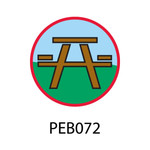 Pebble Patches - PEB072 - Picnic