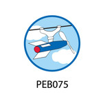 Pebble Patches - PEB075 - Flying