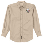 S608 - B117-Sipp-O Lodge Logo - EMB - Buckeye Council Sipp-O Lodge Long Sleeve Easy Care Shirt