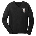 SW300 - B117-Sipp-O Lodge Logo - EMB - Buckeye Council Sipp-O Lodge V-Neck Sweater