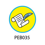 Pebble Patches - PEB035 - Scribe