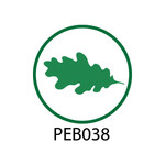 Pebble Patches - PEB038 - Leaf