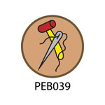 Pebble Patches - PEB039 - Leather
