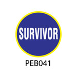 Pebble Patches - PEB041 - Survivor