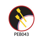 Pebble Patches - PEB043 - Archery