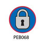 Pebble Patches - PEB068 - Lock In