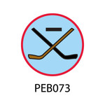 Pebble Patches - PEB073 - Hockey