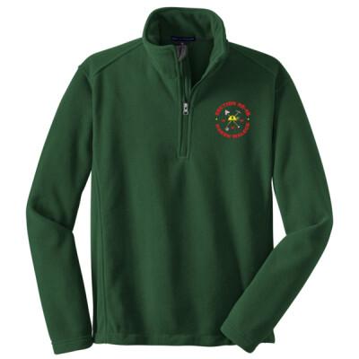 NE-4B - NE4B Logo - Emb - F218 - Fleece 1/4 Zip Pullover