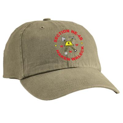 NE-4B - NE4B Logo - Emb - CP84 - Garment Washed Cap