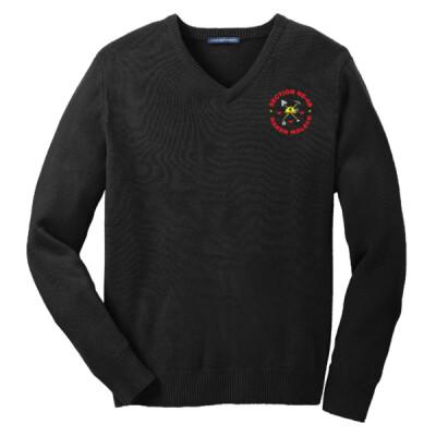 NE-4B - NE4B Logo - Emb - SW300 - V-Neck Sweater