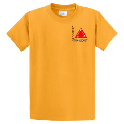 M107 - Kit-Ke-Hak-O-Kut Logo - Emb - PC61 - Mid America Council Kit-Ke-Hak-O-Kut Lodge T-Shirt